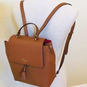 Kate spade medium Hayes backpack warm ginger